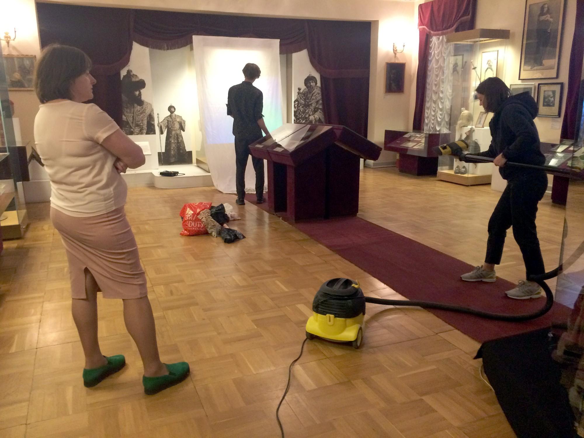 Ночь музеев 2018 музей-квартира Шаляпина уборка пылесос