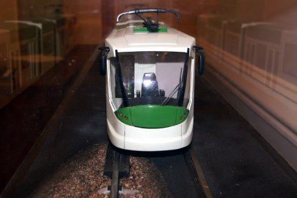 скоростной трамвай макет