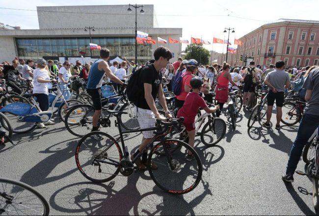 велопарад велосипед день города