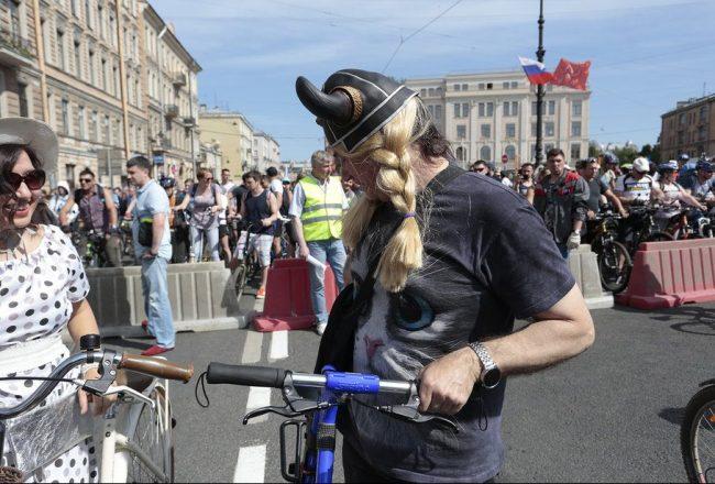 велопарад викинг костюм велосипед день города