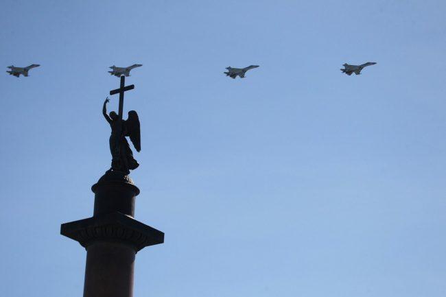 sYt7VQTgjBU парад авиации самолеты истребители дворцовая день победы