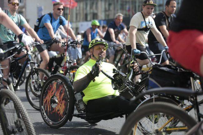 велосипед велопарад день города лень