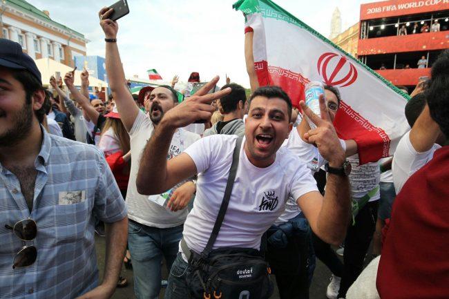чемпионат мира футбол фан зона иран матч