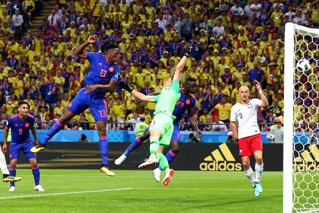 ЧМ-2018 чемпионат мира по футболу матч Колумбия - Польша