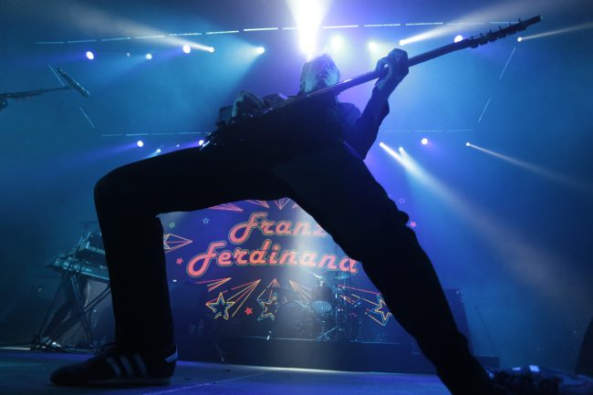 фестиваль Stereoleto группа Franz Ferdinand