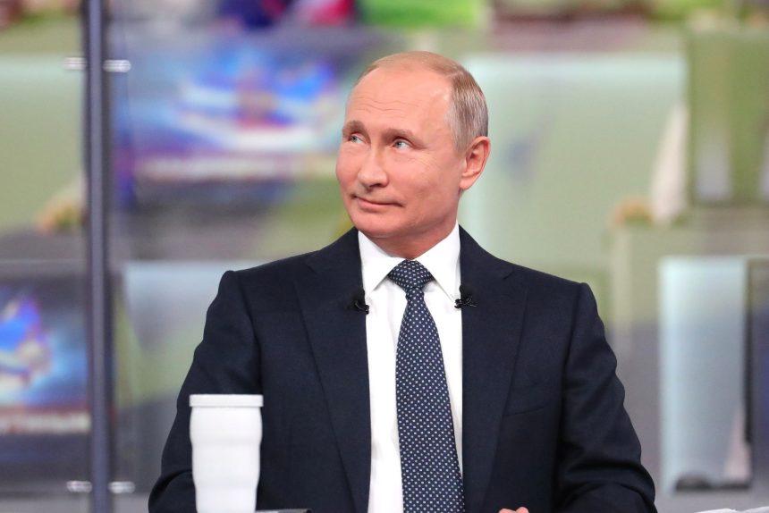 прямая линия Владимира Путина