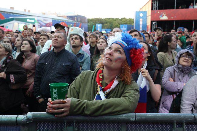 футбол фанат болельщик фан зона чемпионат мира по футболу россия