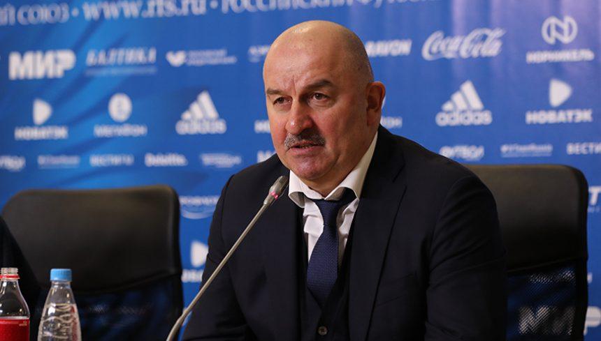 черчесов станислав футбол главный тренер сборной россии