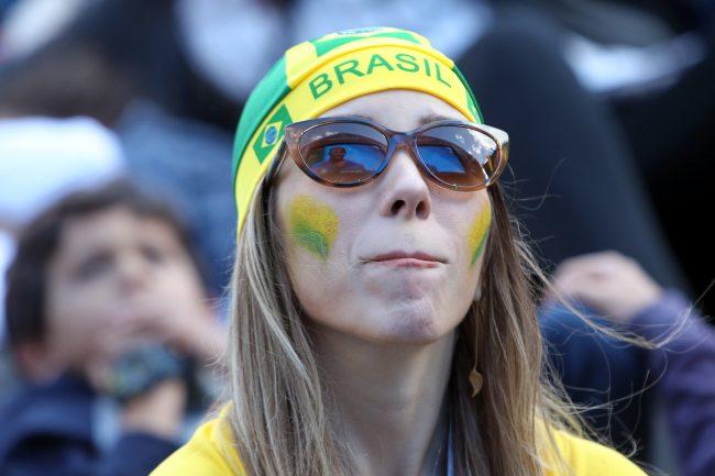 ЧМ-2018 фанатка болельщица сборной Бразилии