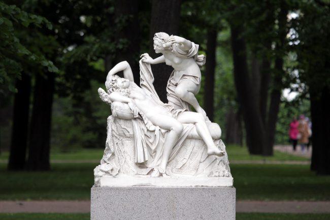 Летний сад статуи скульптура Амур и Психея