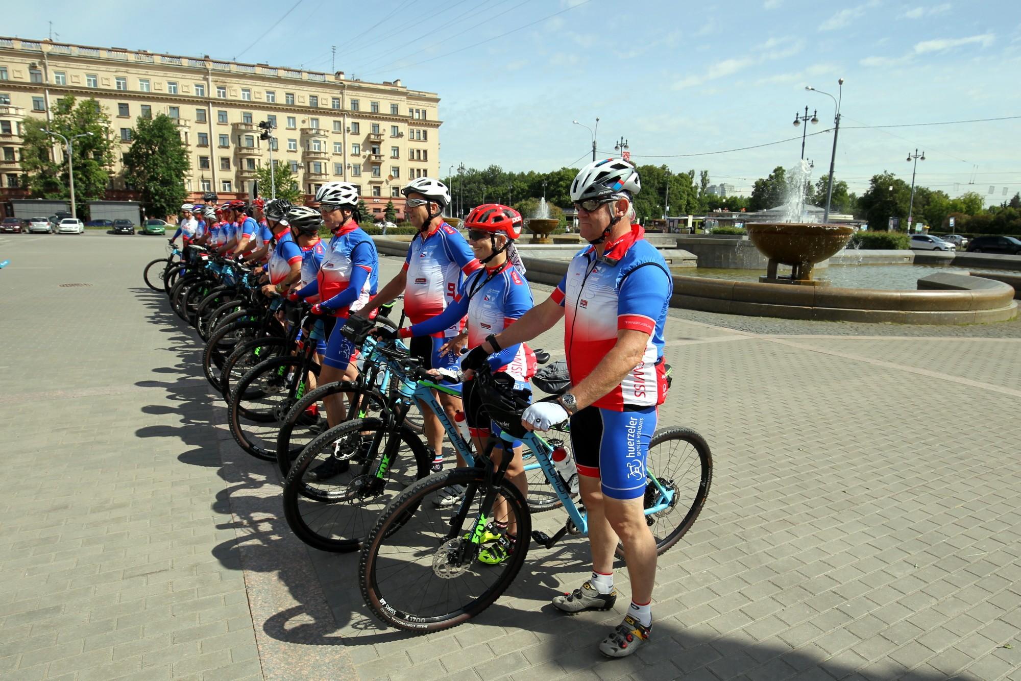 Немцы посетят Читу в 95-дневном велопробеге по России