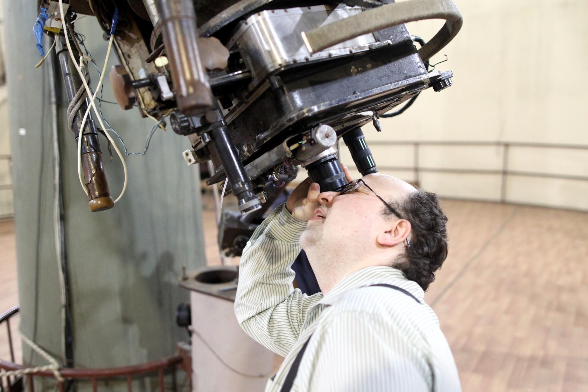 Игорь Измайлов Пулковская обсерватория 26-дюймовый рефрактор телескоп астрономия
