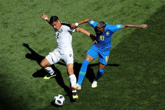 коста-рика бразилия чемпионат мира по футболу матч футбол