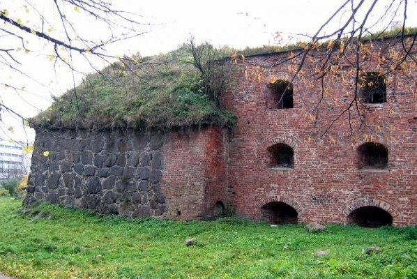 бастион Панцерлакс Выборг крепость