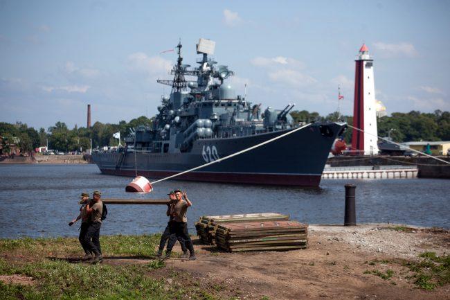 Кронштадт военно-морской флот корабли матрос моряк