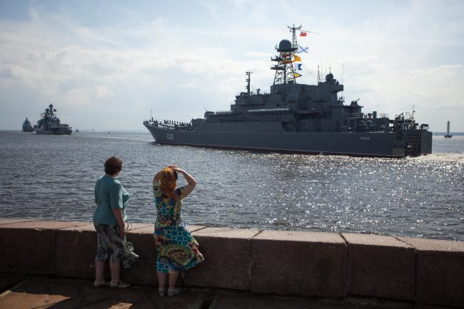 Кронштадт военно-морской флот десантный корабль Королёв