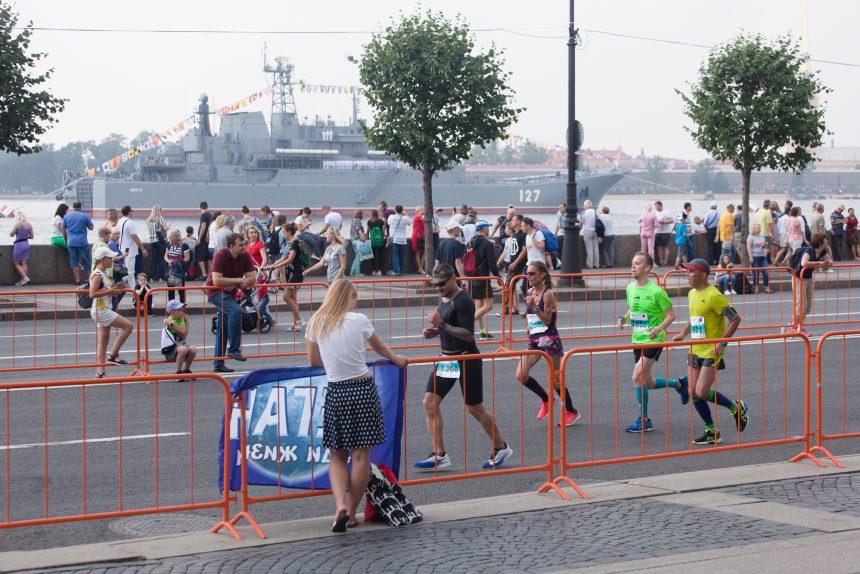 бег лёгкая атлетика марафон Белые Ночи