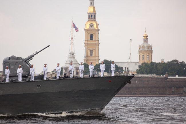 репетиция день ВМФ главный военно-морской парад военные корабли