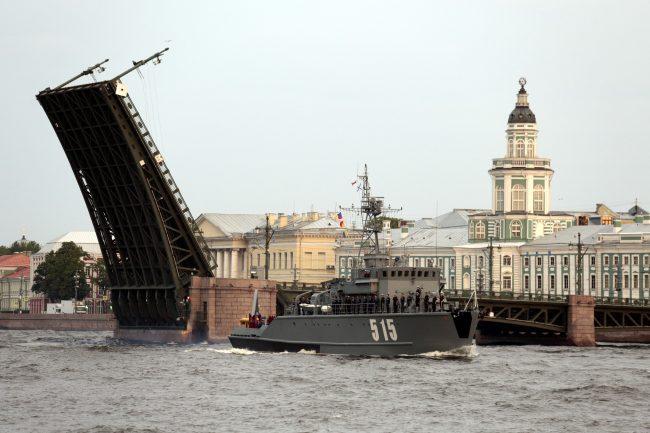 репетиция военно-морского парада военные корабли