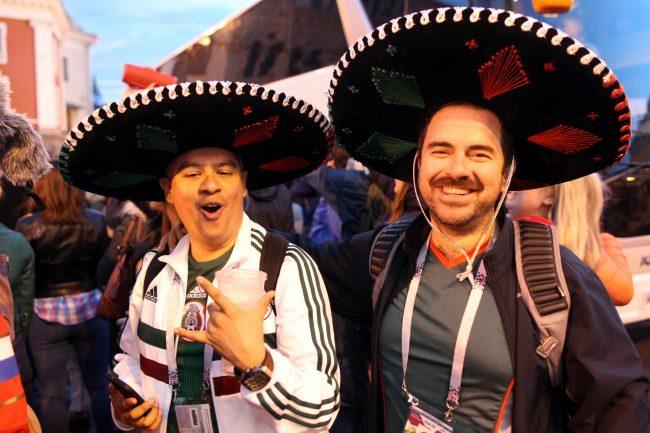 ЧМ-2018 болельщики фанаты сборной Мексики