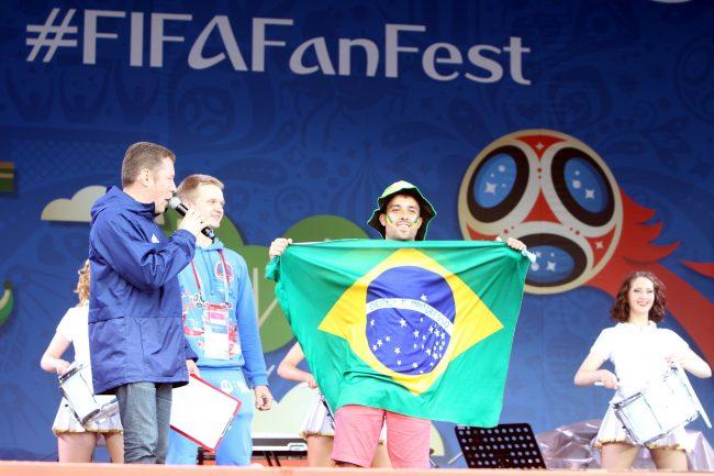 фанзона фестиваль болельщиков ФИФА миллионный болельщик