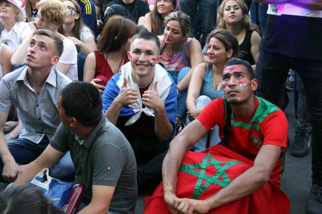 ЧМ-2018 футбол фанаты болельщики сборной Марокко