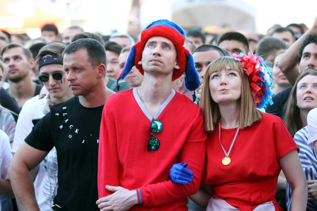 ЧМ-2018 футбол фанаты болельщики сборной России