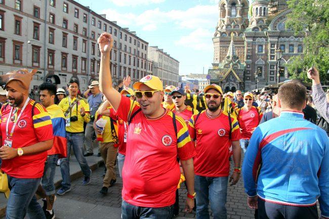 ЧМ-2018 фанаты болельщики сборной Колумбии