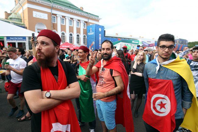 ЧМ-2018 фанаты болельщики Тунис