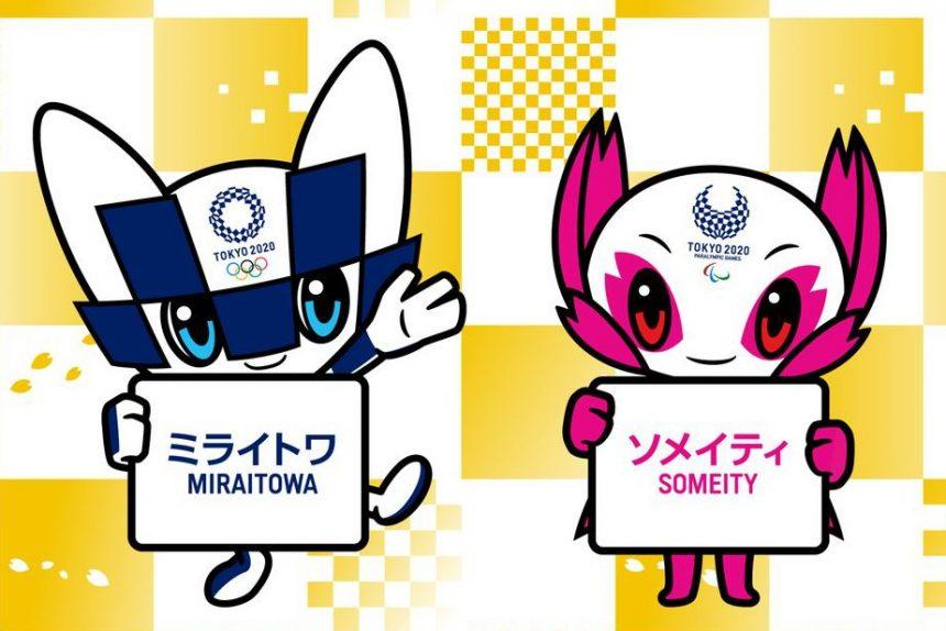 олимпиада олимпийские игры япония талисманы символы мирайтова сомэйти