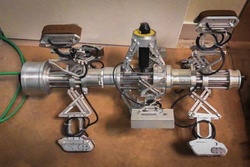 робот дефектоскоп для исследования труб