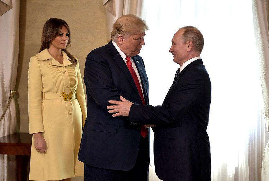 дональд трамп владимир путин президент встреча зельсинки переговоры