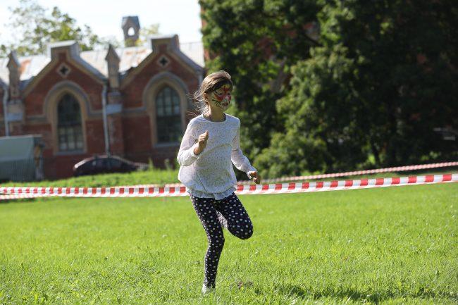 забег SamsonRun лёгкая атлетика Петергоф детский спорт