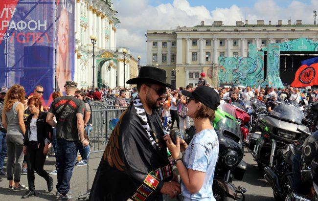 мотофестиваль Harley Days мотоциклисты байкеры любовь