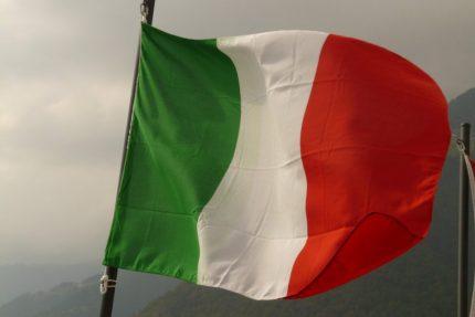 италия итальянский флаг