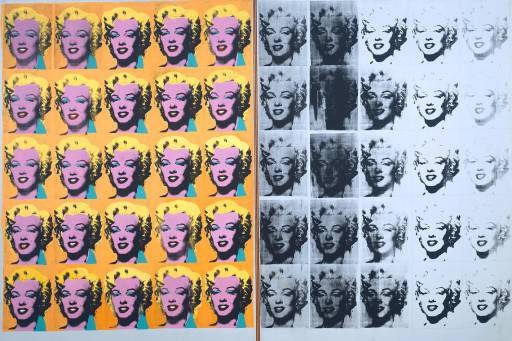 Диптих Мэрилин, 1962