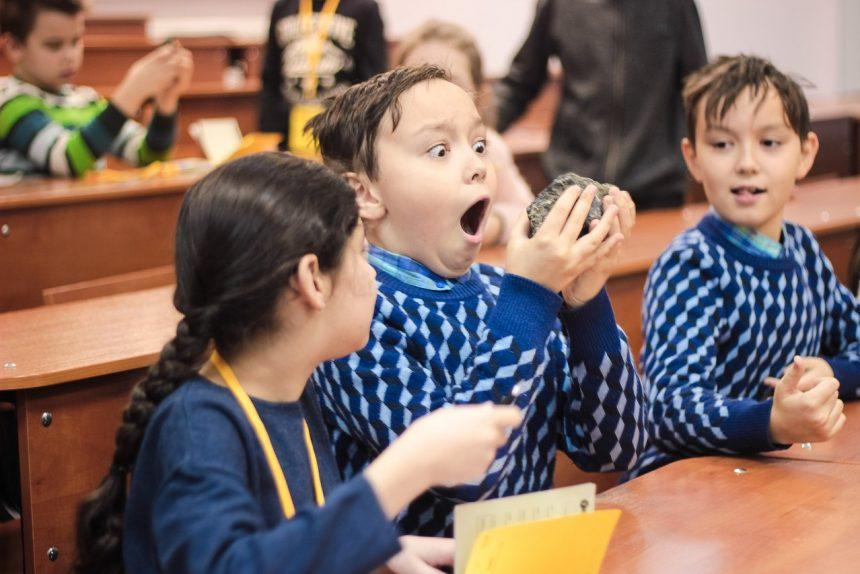 научный пикник, дети, школа