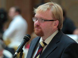 Виталий Милонов, фото пресс-службы ЗакСа