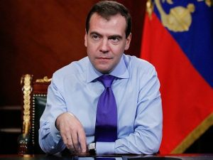 Дмитрий Медведев, фото с официального сайта