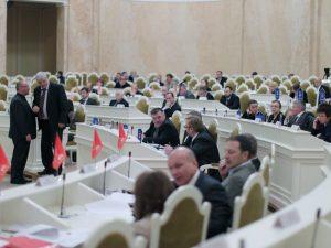 Заседание ЗакСобрания Петербурга, фото с сайта ЗакСа