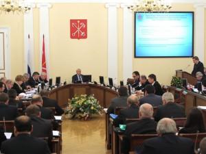 Заседание правительства Санкт-Петербурга, фото пресс-службы Смольного