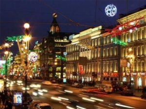 Новый год Петербург