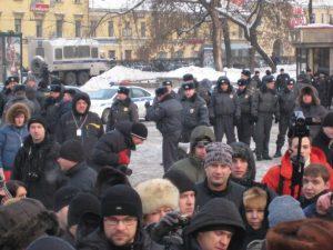 Народный сход в Петербурге в память Григория Кочнева