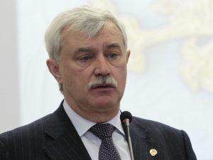 Георгий Полтавченко, фото пресс-службы Смольного