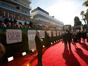 Красная ковровая дорожка Золотого глобуса, фото Reuters