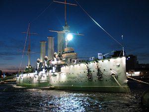 Крейсер Аврора, фото с официального сайта