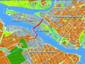 Серный мост, карта www.online812.ru