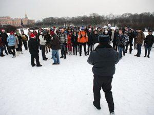 Снежная битва, фото из блога ЖЖ-юзера oleg-parfenoff