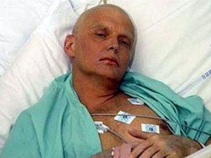 Александр Литвиненко в последние дни жизни, фото с сайта top.rbc.ru