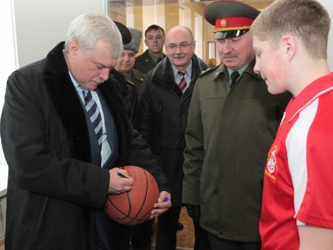 Георгий Полтавченко встретился с воспитанниками Санкт-Петербургского кадетского корпуса, фото пресс-службы Смольного